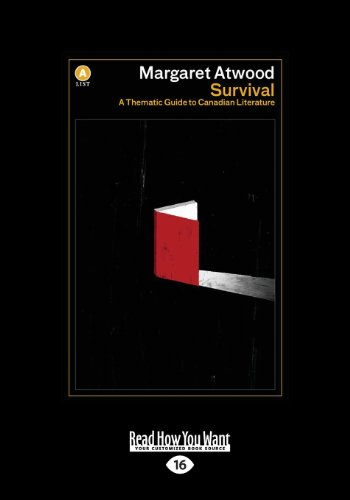 9781459664807: Survival: A Thematic Guide to Canadian Literature (Large Print 16pt)