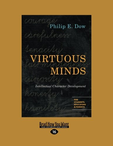 9781459665811: Virtuous Minds: Intellectual Character Development