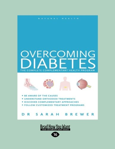 9781459666009: Overcoming Diabetes: The Complete Complementary Health Program