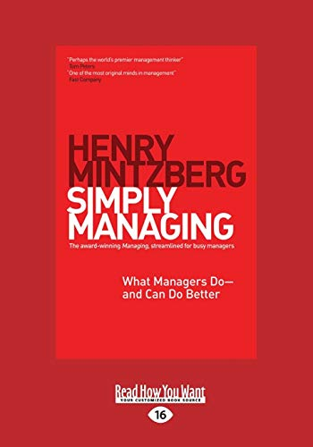 9781459668232: Simply Managing: What Managers Do - and Can Do Better