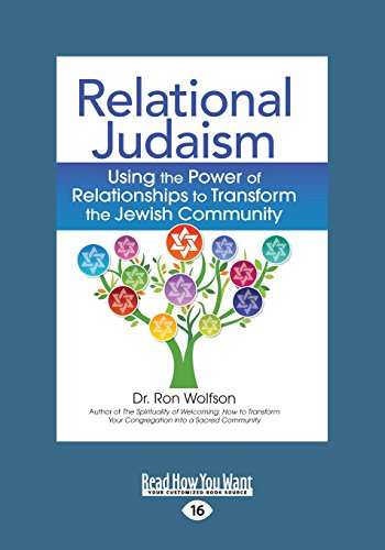 9781459669376: Relational Judaism: Using the Power of Relationships to Transform the Jewish Community