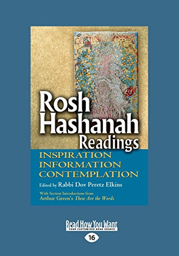 9781459669611: Rosh Hashanah Readings: Inspiration, Information and Contemplation