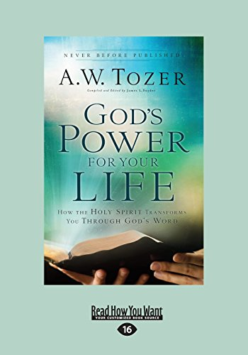 9781459675230: God's Power for Your Life: How the Holy Spirit Transforms You Through God's Word