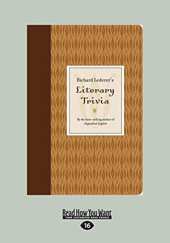 9781459675940: Richard Lederer's Literary Trivia