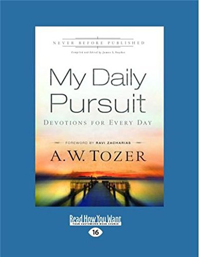 9781459678422: My Daily Pursuit: Devotions For Every Day (Large Print 16pt)
