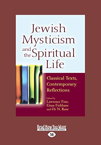 9781459680838: Jewish Mysticism and the Spiritual Life: Classical Texts, Contemporary Reflections