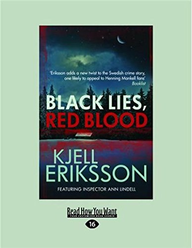 9781459681583: Black Lies, Red Blood (Large Print 16pt)