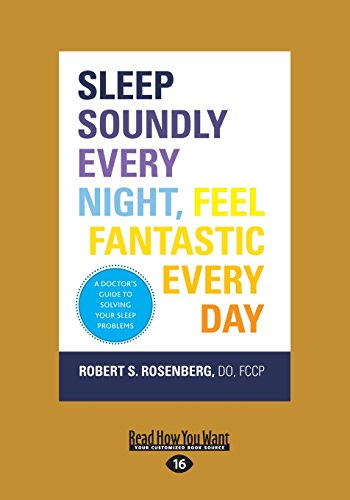 9781459681729: Sleep Soundly Every Night, Feel Fantastic Every Day: A Doctor's Guide to Solving Your Sleep Problems