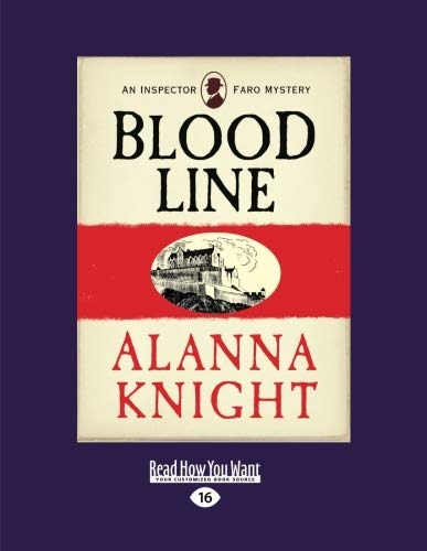 9781459686038: Blood Line: An Inspector Faro Mystery