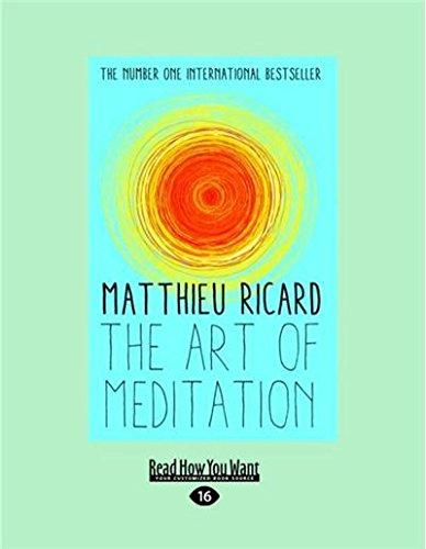 9781459688742: The Art Of Meditation (Large Print 16pt)