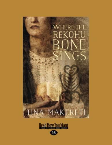 Where the Rekohu Bone Sings (Paperback): Tina Makereti