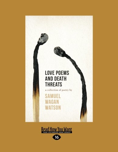 9781459691537: Love Poems and Death Threats