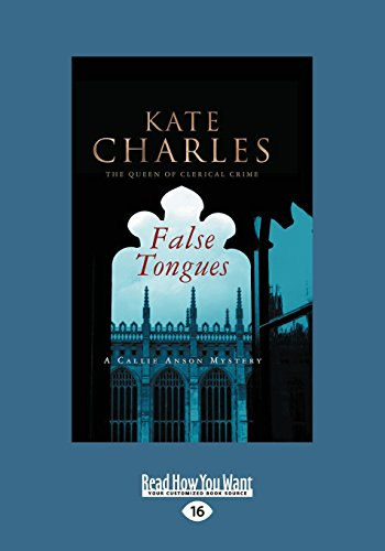 9781459693630: False Tongues: A Callie Anson Mystery (Large Print 16pt)