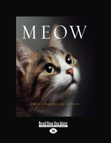 9781459693722: Meow: A Book of Happiness for Cat Lovers