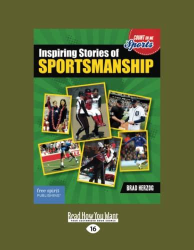 9781459694866: Inspiring Stories of Sportsmanship (Large Print 16pt)