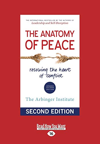 9781459695764: The Anatomy of Peace (Second Edition) (Large Print 16pt)