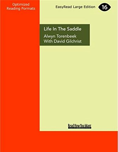 9781459695818: Life in the Saddle (Large Print 16pt)
