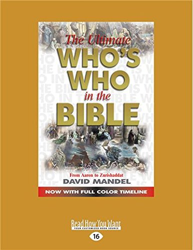 9781459697966: The Ultimate Who's Who in the Bible