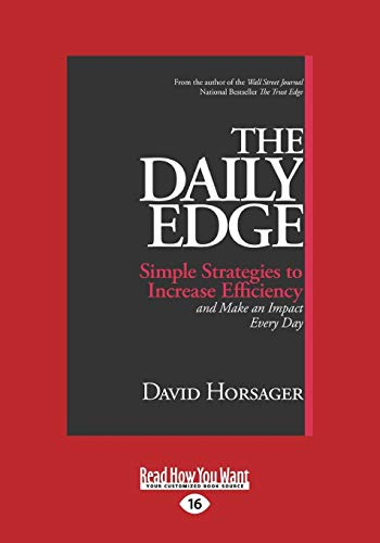 9781459698239: The Daily Edge: Simple Strategies to Increase Efficiency and Make an Impact Every Day