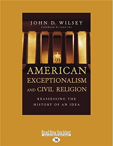 9781459699953: American Exceptionalism and Civil Religion: Reassessing the History of an Idea
