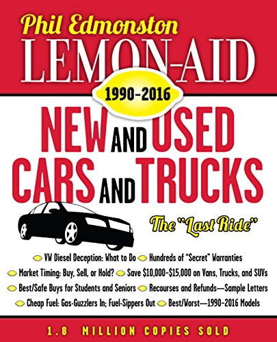 9781459732575: Lemon-aid New and Used Cars and Trucks 1990-2016