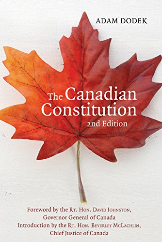 9781459735033: The Canadian Constitution
