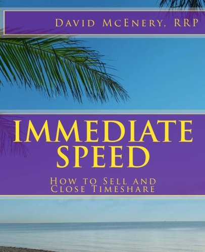 Immediate Speed : How to Sell and: David McEnery