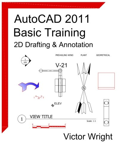 9781460926161: AutoCAD 2011 Basic Training - 2D Drafting & Annotation