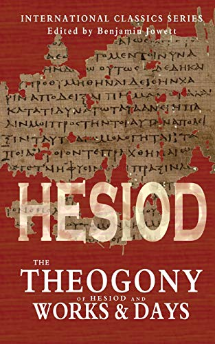 9781460936450: The Theogony of Hesiod and Works and Days