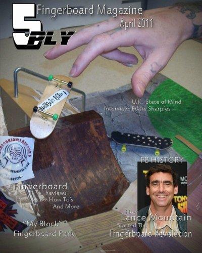 9781460977248: 5 Ply Fingerboard Magazine April 2011: For Fingerboarders By Fingerboarders