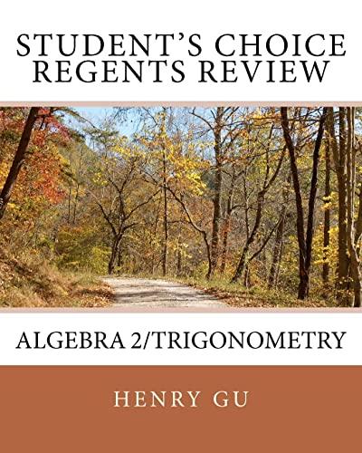 9781460983874: Student's Choice Regents Review Algebra 2/Trigonometry