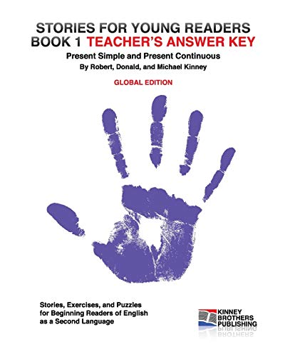 9781461012979: Stories for Young Readers, Book 1, Teacher's Answer Key: Global Edition