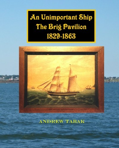 AN UNIMPORTANT SHIP THE BRIG PAVILION 182 - 1863.: Tabek, Andrew.