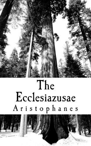9781461070948: The Ecclesiazusae