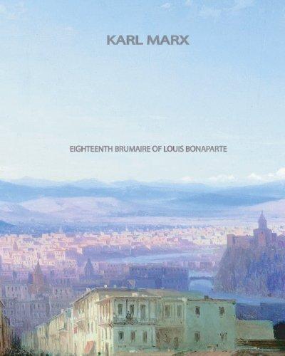 9781461072270: Eighteenth Brumaire of Louis Bonaparte