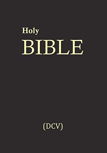 9781461074823: Holy Bible (DCV): Divinitatis Cristi Veritas (DCV)