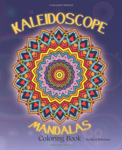 9781461076049: Kaleidoscope Mandalas: Coloring Book