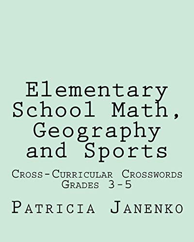 9781461169918: Elementary School Math, Geography and Sports: Volume 2: Student Crossword Puzzles Grades 3 - 5