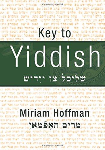 9781461170020: Key To Yiddish