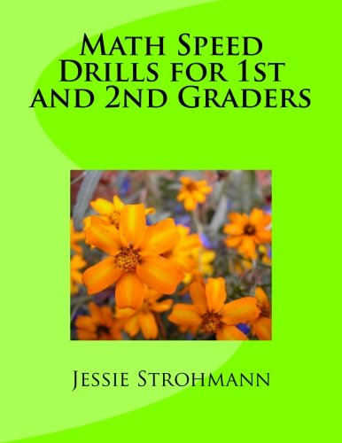 9781461188896: Math Speed Drills for 1st and 2nd Graders