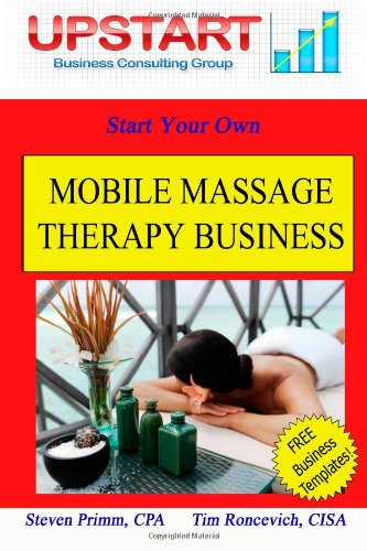 9781461192992: Mobile Massage Therapy Business