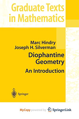 9781461212119: Diophantine Geometry: An Introduction