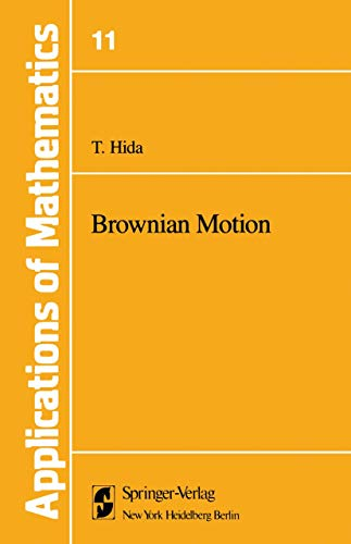 9781461260325: Brownian Motion (Stochastic Modelling and Applied Probability)