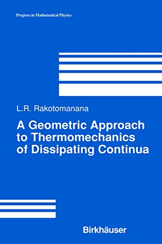 A Geometric Approach to Thermomechanics of Dissipating Continua: Lalao Rakotomanana