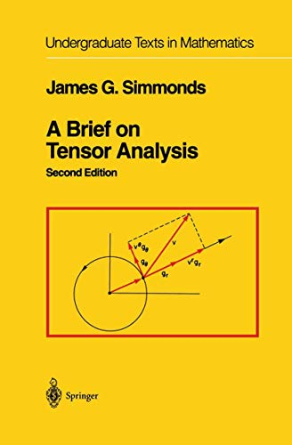 9781461264248: A Brief on Tensor Analysis (Undergraduate Texts in Mathematics)