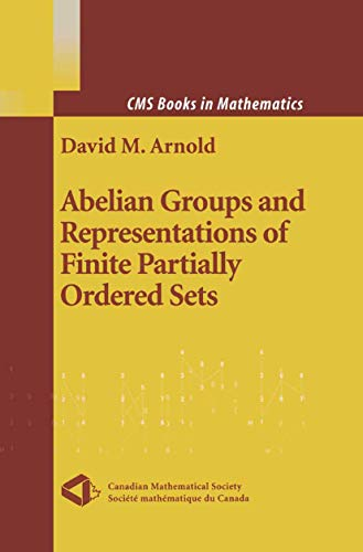 9781461264620: Abelian Groups and Representations of Finite Partially Ordered Sets (CMS Books in Mathematics)