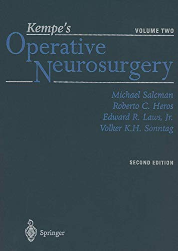 9781461264811: Kempe's Operative Neurosurgery: Volume Two Posterior Fossa, Spinal and Peripheral Nerve