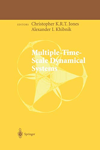 9781461265290: Multiple-Time-Scale Dynamical Systems (The IMA Volumes in Mathematics and its Applications)