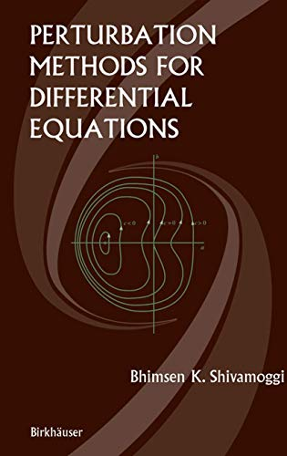 9781461265887: Perturbation Methods for Differential Equations