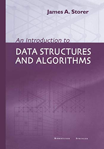 9781461266013: An Introduction to Data Structures and Algorithms